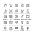 web design icons 3 vector image