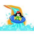 Water Slide Penguin