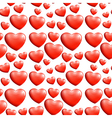 A seamless heart pattern vector image