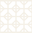 abstract geometric lines lattice pattern seamless vector image vector image