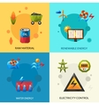 Energy Resources Icons Set vector image