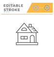 house line icon vector image vector image