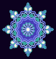 Mandala hand-drawn patterns round ornament vector image vector image