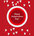 poland independence day templates for your design vector image vector image