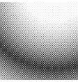 retro abstract halftone dot pattern background vector image vector image