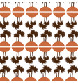 Tree palms pattern background