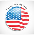 usa independence day 4th of july vector image vector image