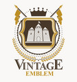 vintage design element retro style label vector image vector image