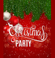 abstract beauty christmas and new year party vector image