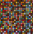 Abstract geometric seamless background of color vector image vector image