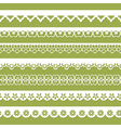 abstract seamless paper laces vector image