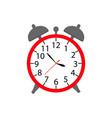 alarm a clock icon in color ware up vector image vector image