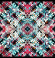 colorful geometric abstract pattern vector image