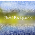 Ornamental Floral Background vector image vector image