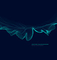 particle top speed landscape vector image