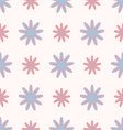 flowers pattern seamless vector image