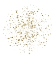 abstract background with alling golden tiny vector image vector image