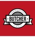 butcher shop logo vintage vector image vector image