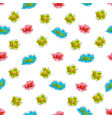 cool stickers youth seamless pattern background vector image