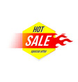emblem hot sale price offer deal labels template vector image vector image