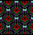 ethnic paisley seamless pattern tribal vector image