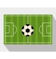 football soccer vector image vector image