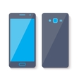 Mobile phone icon Flat style design vector image vector image