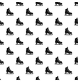 Skates pattern simple style vector image vector image