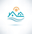 house symbol cottage icon vector image