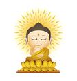 Buddha Cartoon vector image vector image