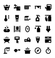 Home Appliances Icons 10 vector image vector image