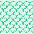 mermaid tail seamless pattern vector image vector image