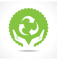 save nature concept vector image vector image