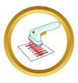 Scanner icon vector image