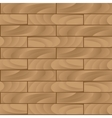 Seamless wood texture brown vector image vector image