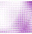 simple halftone dot background pattern template vector image vector image