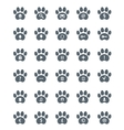 Traces of Cat Icons Set vector image