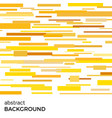 abstract background of yellow rectangles vector image vector image