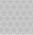 Arabian seamless net pattern vector image vector image