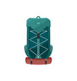 backpack icon camping or hiking rucksack