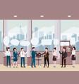 business people meeting teamwork or brainstorming vector image vector image