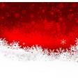 christmas snowflake and starlight abstract