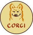 Corgi character logo