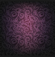 drama violet ornament vector image