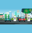 electric charger vector image