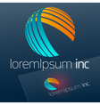 Logotype for Business Corporation Technology vector image vector image