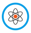 Atom Rounded Icon vector image
