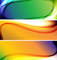 Abstract background banner05 vector image
