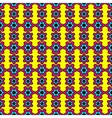 Abstract pattern inspired by Pop Art vector image vector image