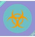 Biohazard symbol sign